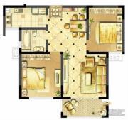 诚河新旅城2室2厅1卫94平方米户型图