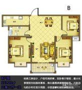 宿迁盛世嘉园3室2厅1卫107平方米户型图