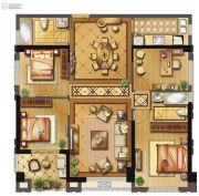 长乐阳光城翡丽湾4室2厅2卫137平方米户型图