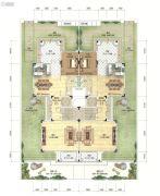 招商・依云雍景湾4室4厅2卫153平方米户型图