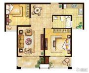 三水萧林2室2厅1卫86平方米户型图