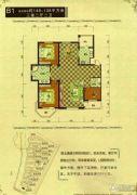 御龙仙语湾3室2厅2卫148平方米户型图