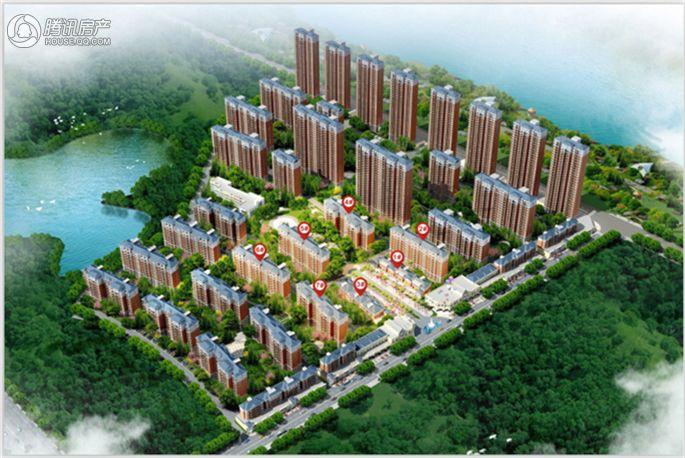 汉水新城中法印象效果图