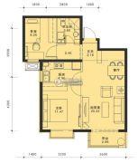 蓝泽・大金城2室2厅1卫0平方米户型图