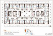 地王公馆1室1厅1卫38--74平方米户型图