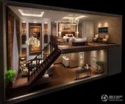 蓝光空港国际城1室1厅1卫30平方米户型图