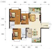 华东七里香(迎龙苑2期)3室2厅2卫120平方米户型图