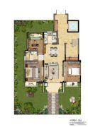 国瑞瀛台2室2厅1卫0平方米户型图