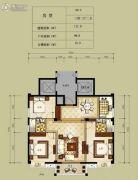 凯旋帝景3室2厅2卫111平方米户型图