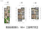 嘉裕第六洲2室2厅4卫159--248平方米户型图