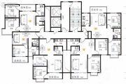 天健水榭花都1室1厅1卫56平方米户型图