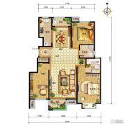 中国铁建・北京山语城3室2厅2卫115平方米户型图