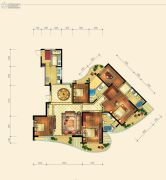 金隅观澜时代4室3厅4卫233平方米户型图