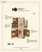 鑫苑景城4室2厅2卫0平方米户型图
