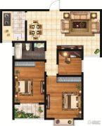 和富名苑3室2厅1卫112平方米户型图