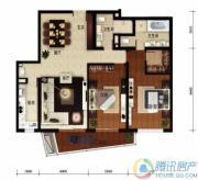 华远九都汇2室2厅2卫159平方米户型图