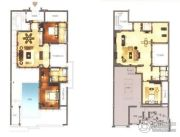 绿城朱家尖东沙度假村3室2厅3卫500平方米户型图