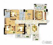 冠亚・国际星城4室2厅2卫109平方米户型图