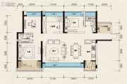 珠江青云台4室2厅2卫132--134平方米户型图