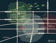 银盛花园交通图