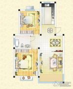 祥育苑2室2厅1卫88平方米户型图