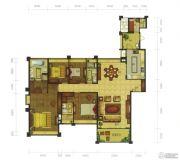 珑翠5室2厅3卫199--250平方米户型图