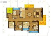 万年卡美丽亚3室2厅2卫120平方米户型图