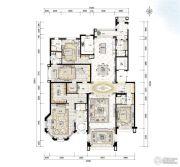 青岛星河湾4室3厅0卫401平方米户型图