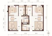燕赵锦河湾1室1厅1卫52平方米户型图