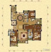 金色丽都4室2厅3卫0平方米户型图