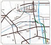 嘉凯城名城博园交通图