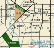 美洲花园E区交通图
