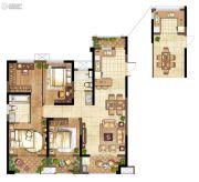 弘阳上水3室2厅2卫121平方米户型图