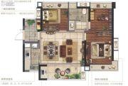 金融街融穗澜湾3室2厅1卫0平方米户型图