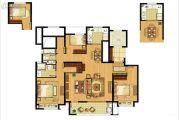 招商雍景湾4室2厅2卫139平方米户型图