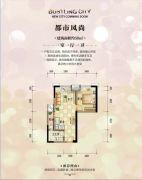 兴荣郡1室1厅1卫50平方米户型图