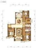 拉克雷公馆3室2厅2卫143平方米户型图