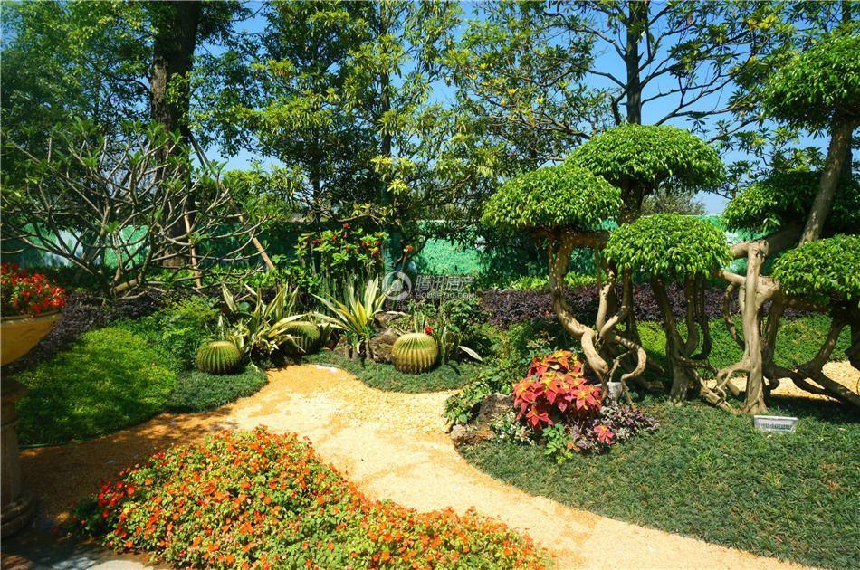 桂林恒大城园林实景图
