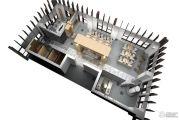 远洋国际中心1室1厅1卫233平方米户型图