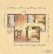 卓扬中华城2室1厅1卫72平方米户型图