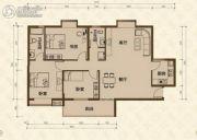 美尔雅・新西南国际花园3室2厅2卫131平方米户型图