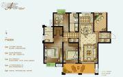 泓润新城华府4室2厅2卫132平方米户型图