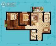 北海・水印泉山2室2厅1卫104平方米户型图