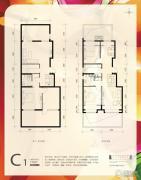 首创・新悦都2室2厅1卫172平方米户型图