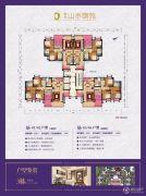 珠光山水御苑3室2厅2卫102--141平方米户型图