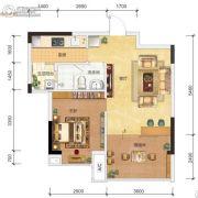 汉韵鑫城4室2厅2卫123平方米户型图