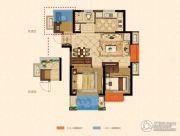 金浦紫御东方3室2厅0卫-5平方米户型图