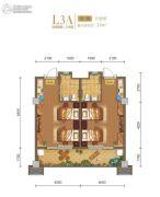 白鹿溪谷1室0厅1卫34平方米户型图