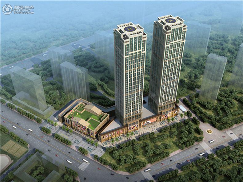 武汉恒大城效果图
