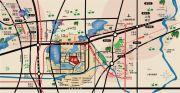 湖悦天境花园交通图